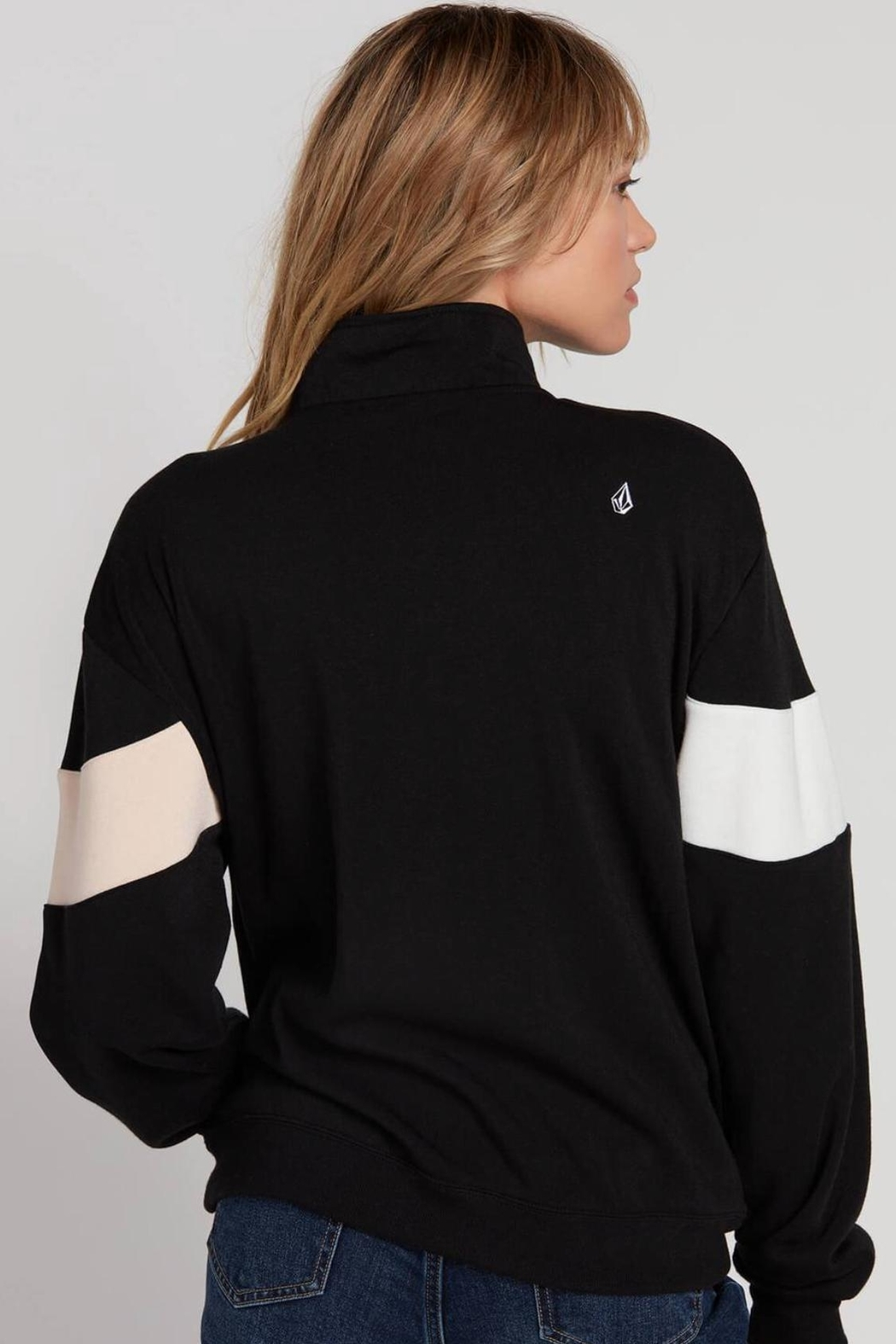 Volcom Color Block Pullover - Front Full Image