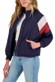 BB Dakota  Color-Block Quilted Jacket - Product Mini Image