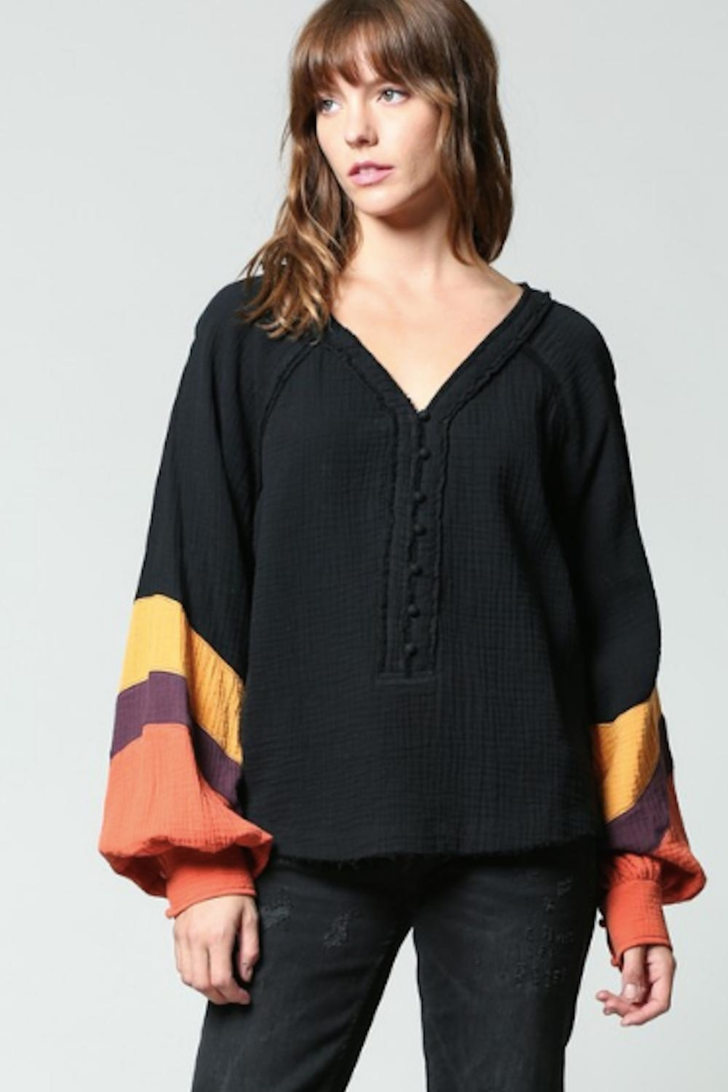FATE by LFD Color Block Shirt - Main Image