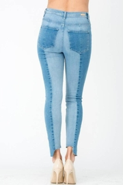 Sneak Peek Color-Block Skinny Denim - Front full body