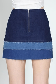 essue Color Block Skirt - Other