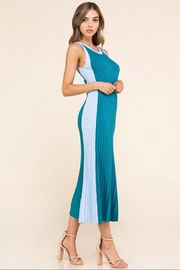 Athena Color-Block Sleeveless Dress - Product Mini Image