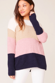 BB Dakota Color-block Summer Sweater - Product Mini Image