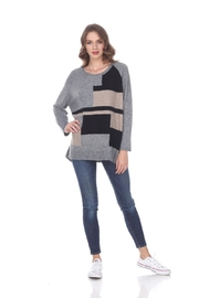 sisters Color Block Sweater - Product Mini Image