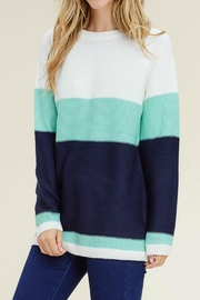 Staccato Color Block Sweater - Product Mini Image