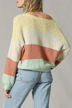 By Together  Color Block Sweater - Alternate List Image