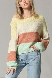 By Together  Color Block Sweater - Product Mini Image