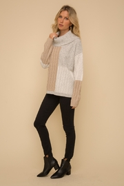 Hem & Thread Color Block Sweater - Other