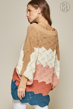 Andree by Unit Color Block Sweater - Alternate List Image