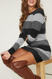 Peach Love Color-Block Sweater Dress - Product Mini Image