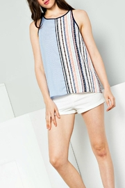 Thml Color Block Tank - Front cropped