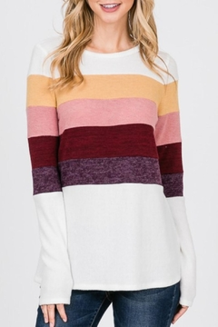 Hailey & Co Color Block Top - Product List Image