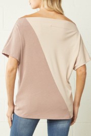 entro  Color Block Trend top - Front full body