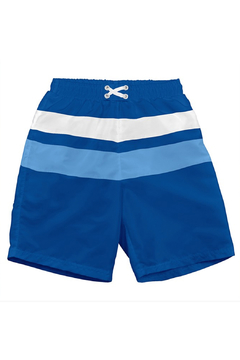 Shoptiques Product: Color Block Trunks With Built-In Reusable Absorbent Swim Diaper