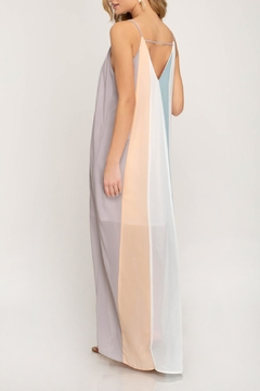 3759a26e79eee2 She + Sky Color Blocked Maxi - Alternate List Image ...