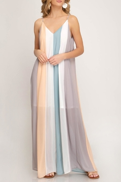 f38b5420c ... She + Sky Color Blocked Maxi - Product List Image