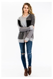 Baciano Color Blocked Sweater - Product Mini Image