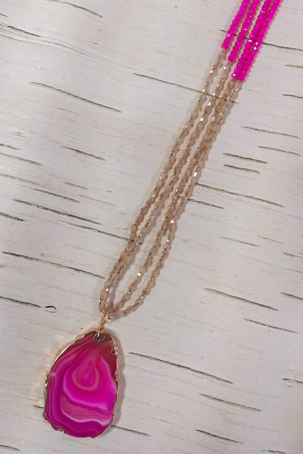 Southern Grace Color Crush Beaded Necklace - Main Image