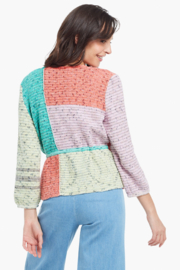 Nic + Zoe Color Crush Cardigan - Front full body