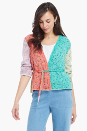 Nic + Zoe Color Crush Cardigan - Front cropped
