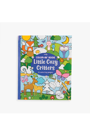 Ooly Color-In Book: Little Cozy Critters - Product Mini Image