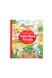 Ooly Color-In Book: Little Farm Friends - Product Mini Image