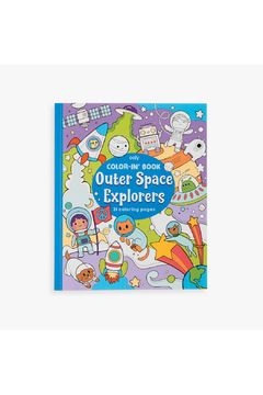 Ooly Color-In Book: Outer Space Explorers - Alternate List Image