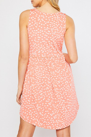 Mittoshop Color Me Coral Dress - Front full body