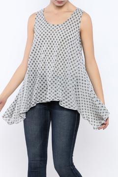 Shoptiques Product: Gray Check Tank
