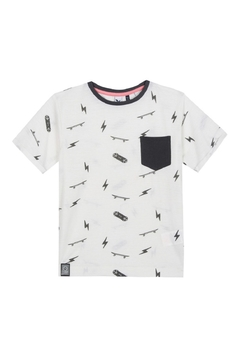 3Pommes COLOR RIDER GRAPHIC PKT TEE - Product List Image