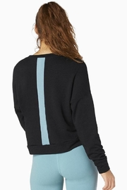 Beyond Yoga Color-Streaked Cropped Pullover - Product Mini Image