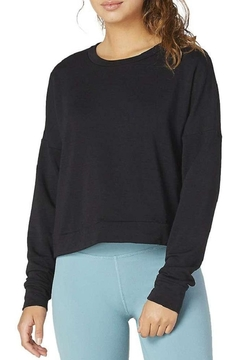 Beyond Yoga Color-Streaked Cropped Pullover - Alternate List Image