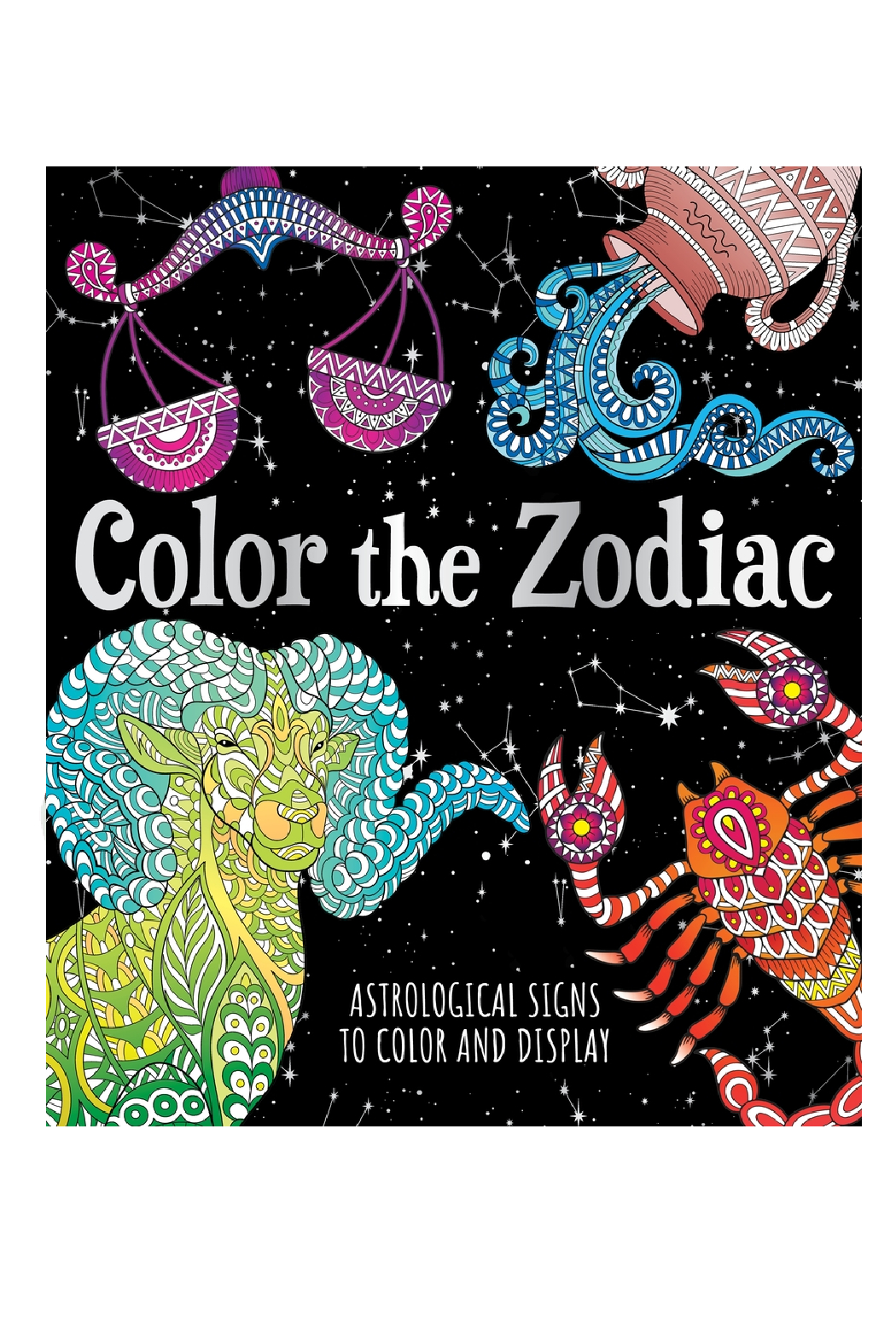 Macmillian Publishing Group Color the Zodiac - Front Cropped Image