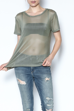 Shoptiques Product: Boxy Mesh Top