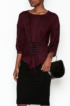 Color Thread Corset Top - Product List Image