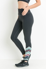 Mono B Color Wrap Legging - Back cropped