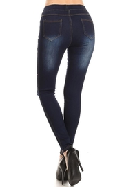 Color 5 Elastic Waist Denims - Other
