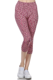 Color 5 Fushia Workout Leggings - Product Mini Image