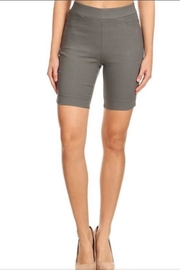 Color 5 Grey Bermuda Shorts - Product Mini Image