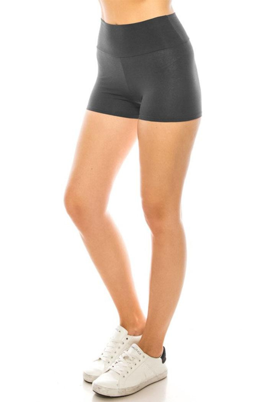 Color 5 Mini Dance Yoga Workout Underskirt Pant - Front Cropped Image