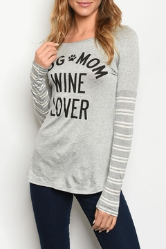 Color Bear Dog-Mom Wine-Lover Tunic - Product List Image