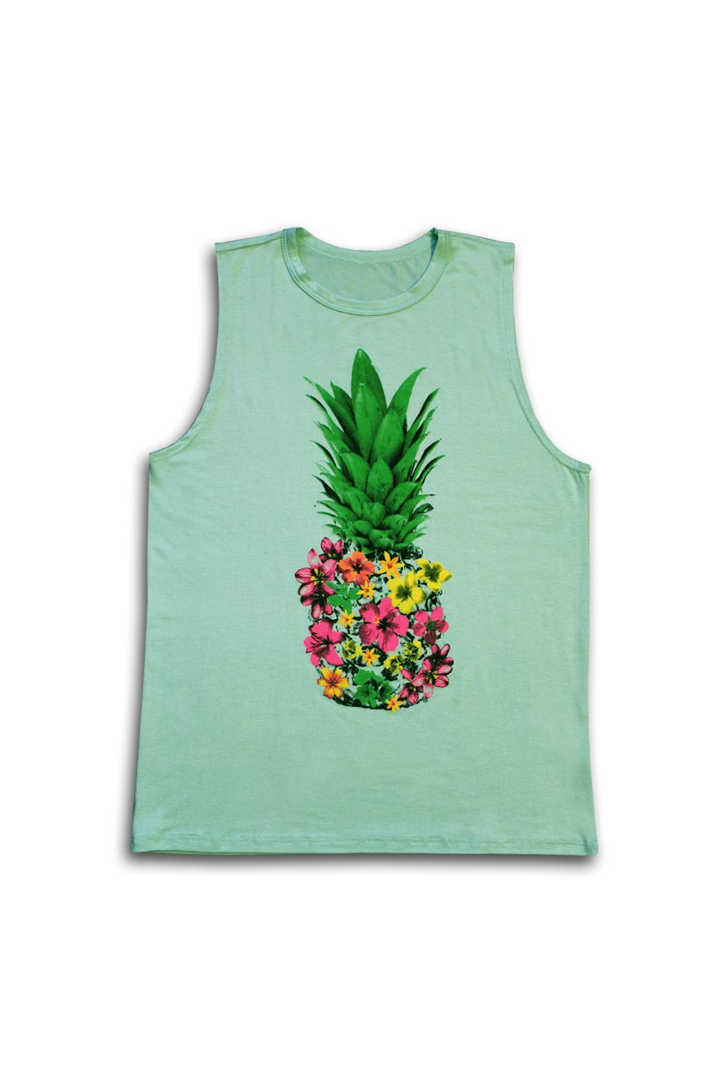 9053633e64fbab Color Bear Floral Pineapple Tee from New York City by Local Color ...