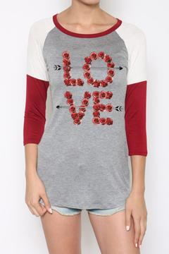 Color Bear Love Baseball Tee - Alternate List Image
