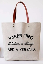 Color Bear Parenting Canvas Tote - Product Mini Image