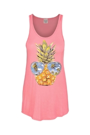 Color Bear Pineapple Sunglasses Tank - Product Mini Image