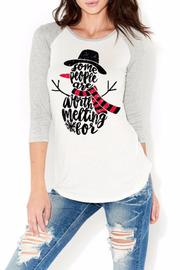 Color Bear Snow Man Top - Product Mini Image