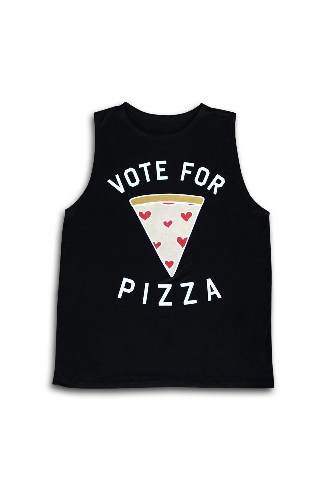 Color Bear Vote Pizza Tee - Main Image
