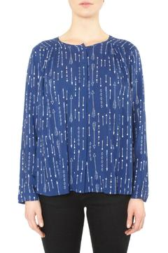 Shoptiques Product: Blue Print Top
