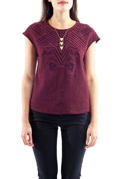 Shoptiques Product: Embroidery Detail Top