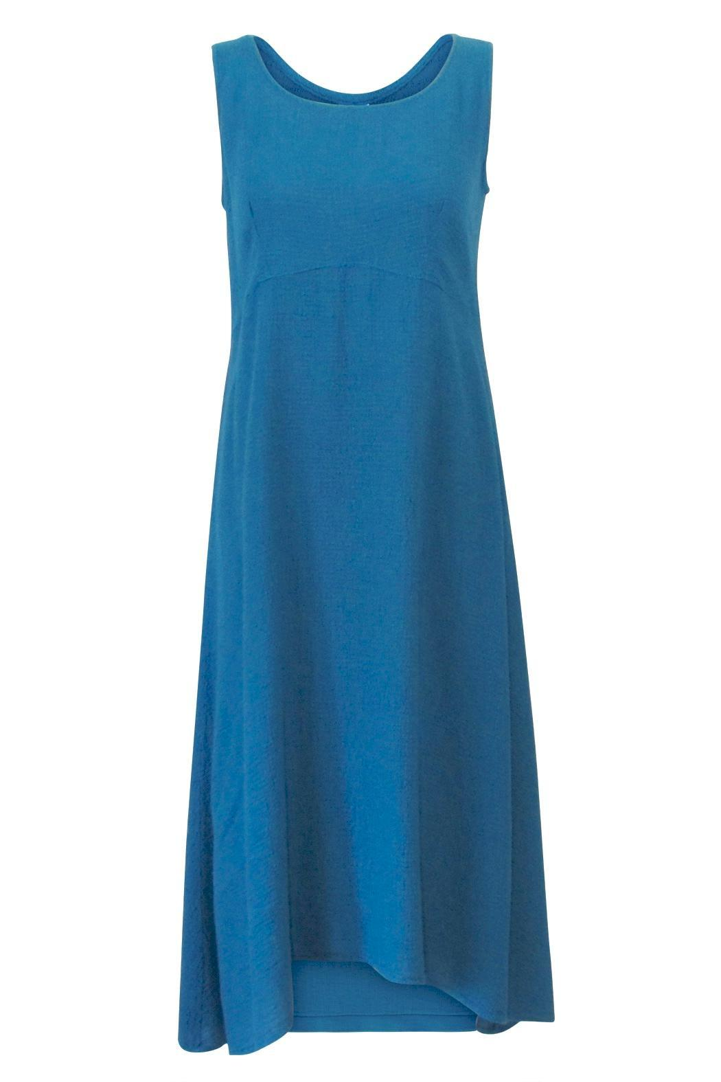 Color Me Cotton Airy Tank Dress - Front Cropped Image